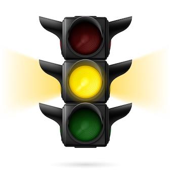 Ilustração de semáforos