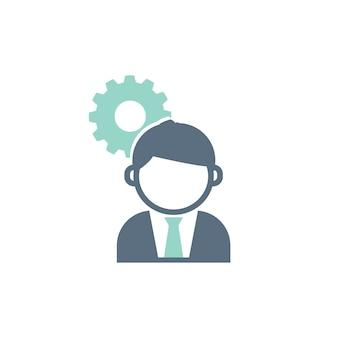 Ilustração, de, serviço ao cliente, conceito