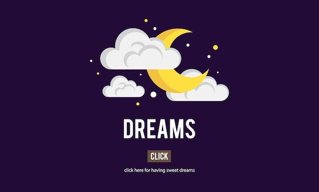 Ilustração de sonho
