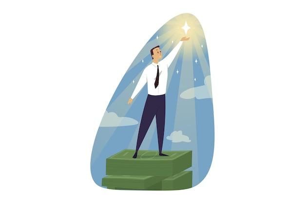 Ilustração de sucesso