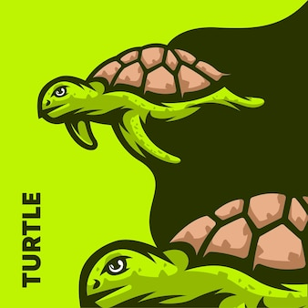 Ilustração de tartaruga