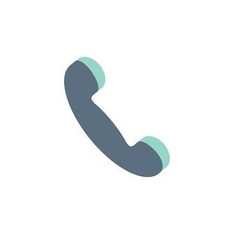 Ilustração, de, telefone