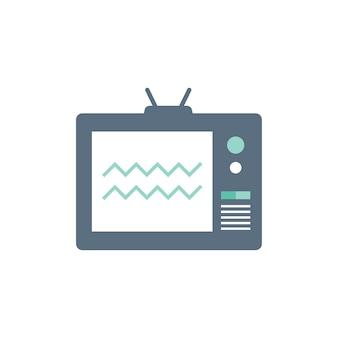 Ilustração de televisão