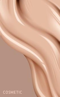 Ilustração de textura líquida de base