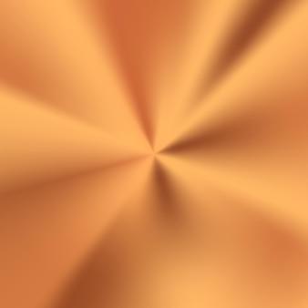Ilustração de textura radial de bronze