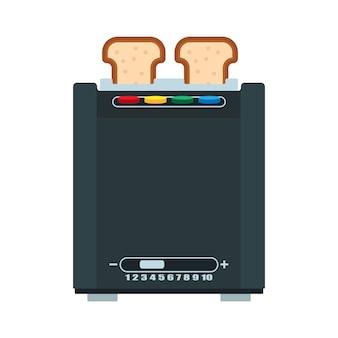 Ilustração de torradeira de pão