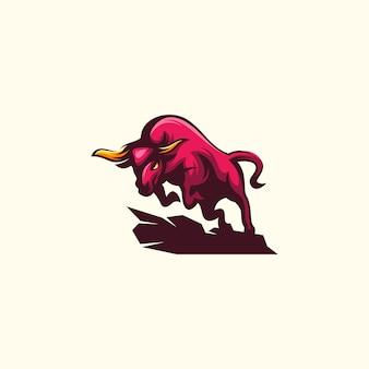 Ilustração de touro