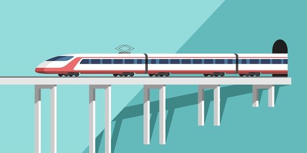 Ilustração de trem