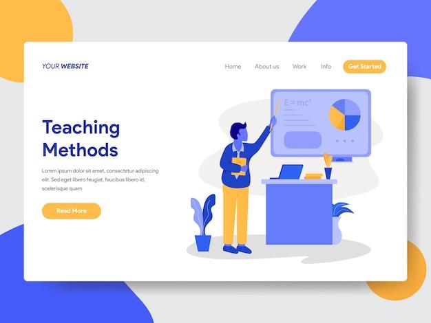 Ilustração de tutoria particular para páginas da web