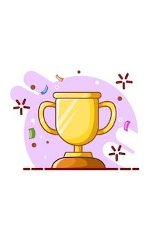 Ilustração de um troféu
