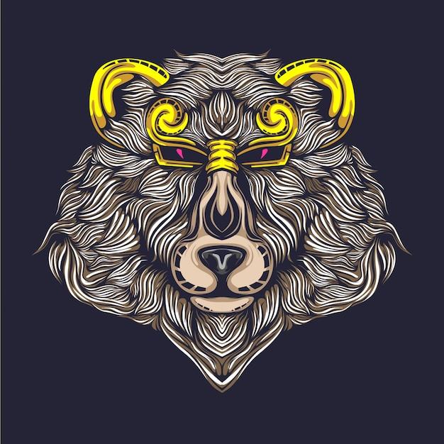 Ilustração de urso