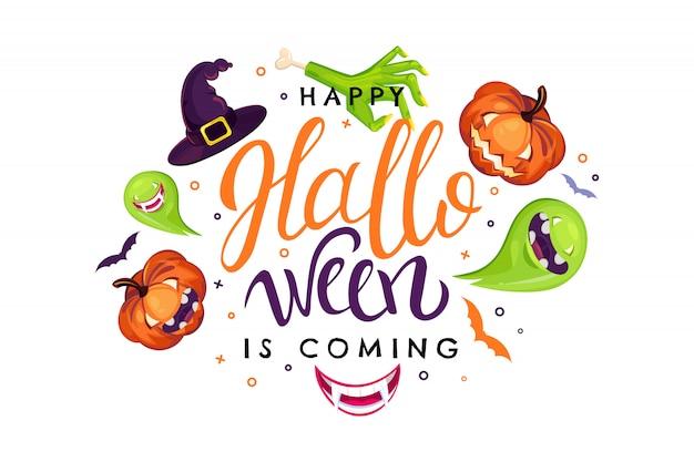 Ilustração de venda de halloween