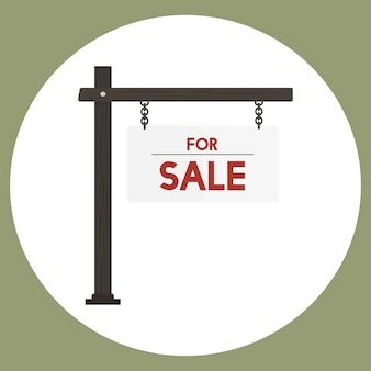 Ilustração, de, venda, sinal, vetorial