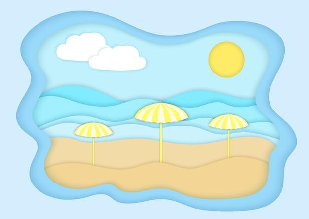 Ilustração de verão