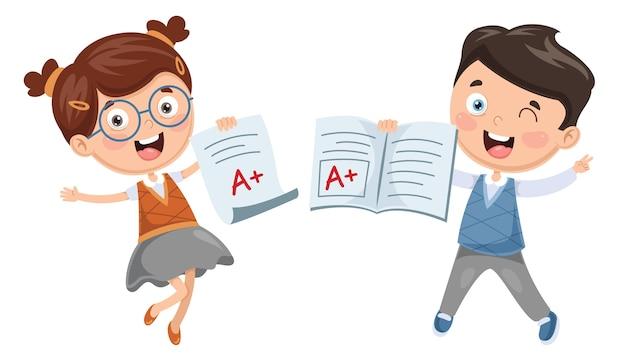 Ilustração do aluno
