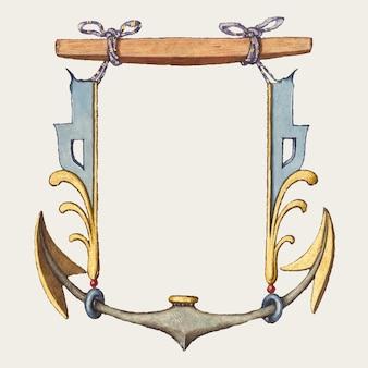 Ilustração do brasão