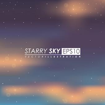 Ilustração do céu.