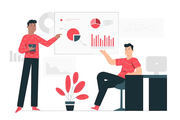 Ilustração do conceito de análise