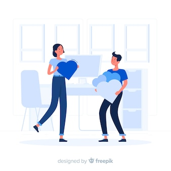 Ilustração do conceito de apreciação