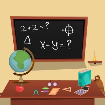 Ilustração do conceito de educação