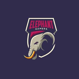 Ilustração do conceito de elefante
