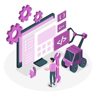 Ilustração do conceito de engenheiro de software