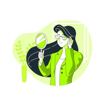 Ilustração do conceito de especificações
