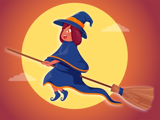 Ilustração do conceito de halloween