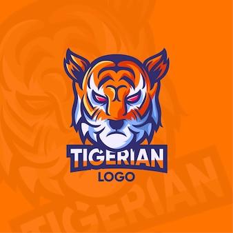 Ilustração do conceito de logotipo de mascote