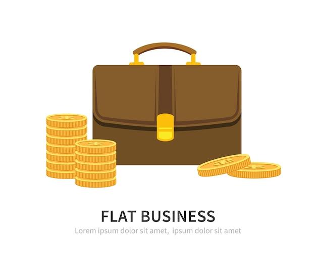Ilustração do conceito de negócio.