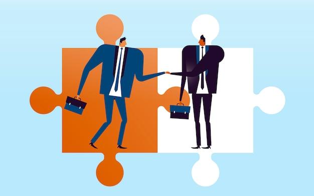 Ilustração do conceito de negócio