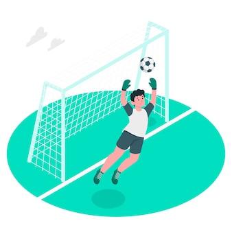 Ilustração do conceito de objetivo