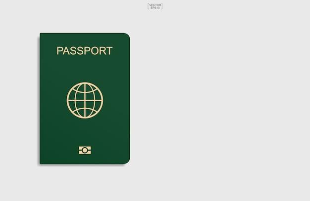 Ilustração do conceito de passaporte