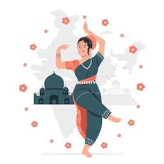 Ilustração do conceito do dia da república indiana