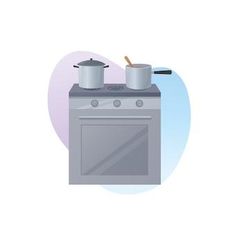 Ilustração do conceito do negócio de restaurante