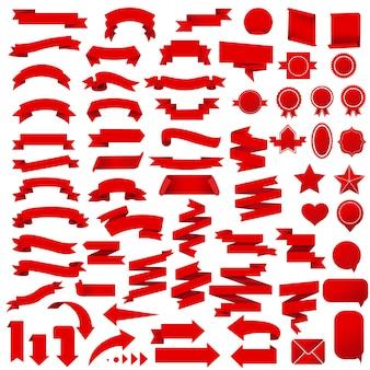 Ilustração do conjunto de fitas