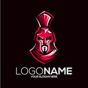 Ilustração do design do logotipo viking