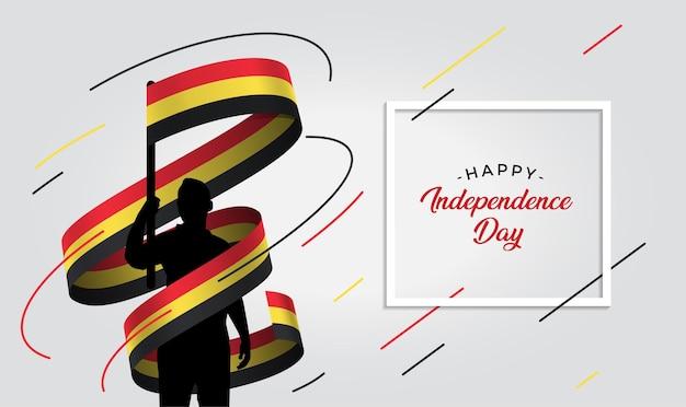 Ilustração do dia da independência da bélgica