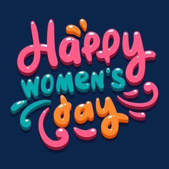 Ilustração do dia da mulher