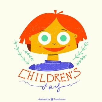 Ilustração do dia das crianças