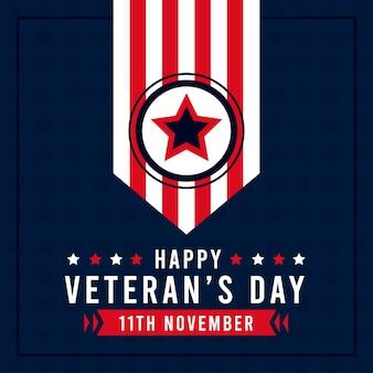Ilustração do dia dos veteranos