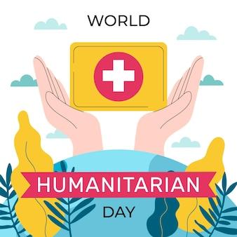 Ilustração do dia humanitário mundial