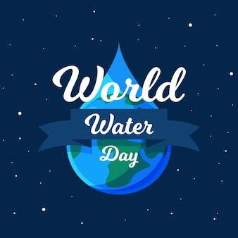 Ilustração do dia mundial da água