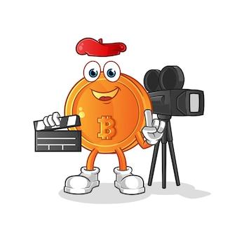 Ilustração do diretor bitcoin