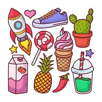 Ilustração do doodle