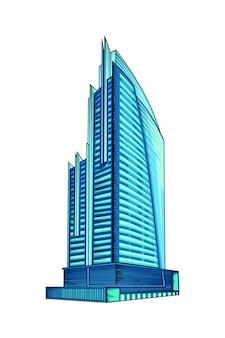 Ilustração do edifício