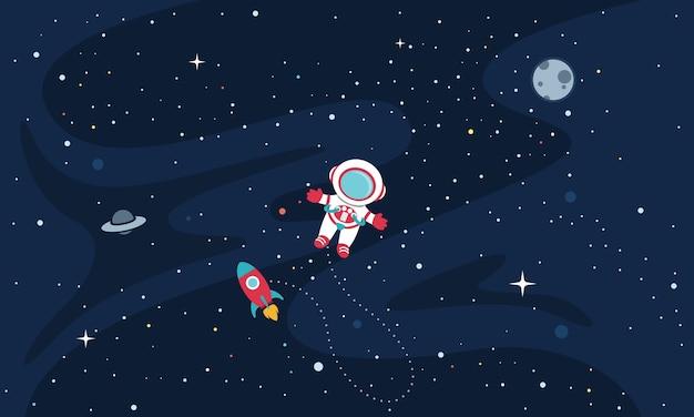 Ilustração do espaço