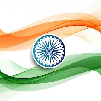 Ilustração do feliz dia da república da índia