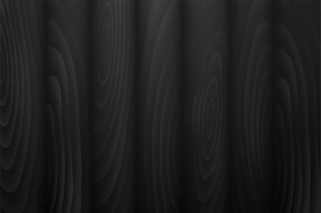 Ilustração do fundo de madeira preto da textura.