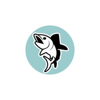 Ilustração do gráfico vetorial un fish para pesca